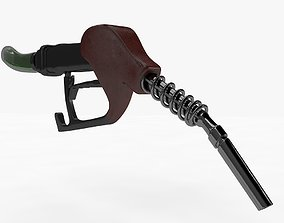 3D model realtime Petrol Pump