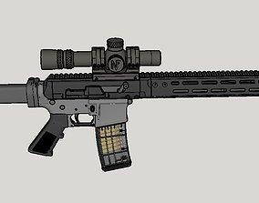 3D BRN-180 upper
