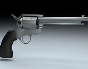 Revolver colt 3D model