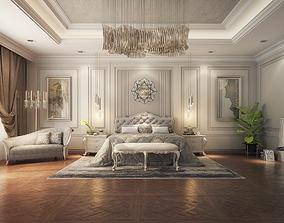 Master Bedroom Classic 3d Max Model classic