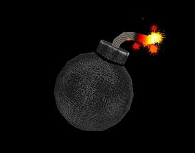 Bomb Power Up 3D asset