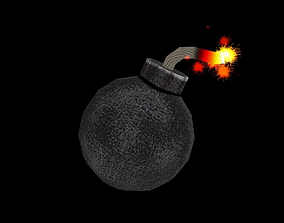 Bomb Power Up 3D asset