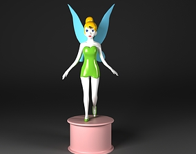 3D model Tinker Bell