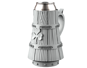 3D printable model irlend Beer mug