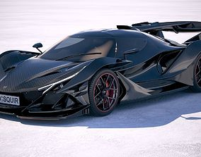 3D model Gumpert Apollo Intensa Emozione 2019