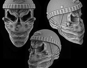 3D printable model Bikers Skull