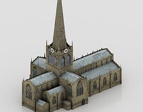 3D asset Church Rotherham Minster