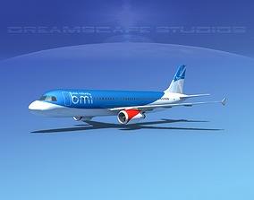 3D asset Airbus A320 LP British Midland