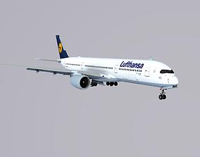 3D model A350-900 Lufthansa
