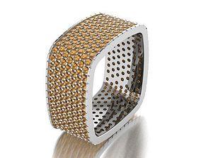 Square Ring ring 3D print model
