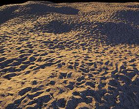 3D model Beach sand material