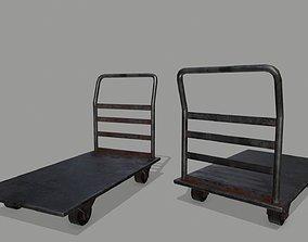 Trolley trolley 3D model realtime