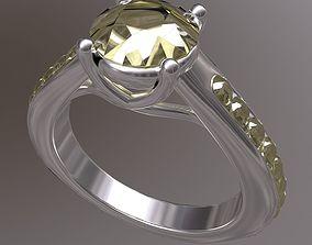avrspot Engagement Ring 3D model