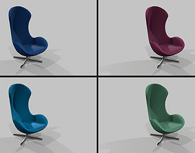Chair Pack 4in1 3D model