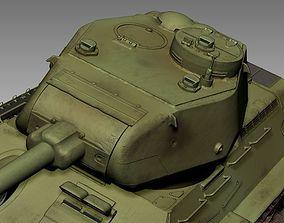 Tank T34 85 3D model