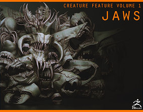 3D JAWS - 33 Monster Mouths and Skulls with IMM Brush