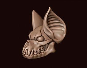 Bat Gargoyle Head 3D printable model