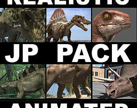 animated MY SPECIAL DINOSAUR PACK - rex 3d model