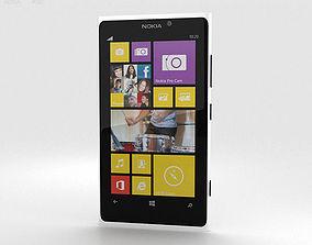 Nokia Lumia 1020 White 3D