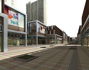 Commercial Building city 3D model