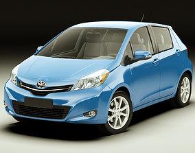 3D model Toyota Yaris Vitz Jewela 2012