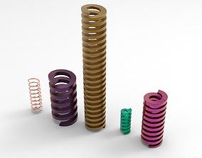 Springs 3D printable model