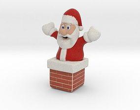 Santa 3D printable model