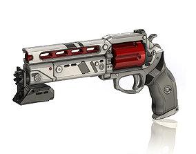 Lunas Howl Legendary Hand Cannon 3D print model