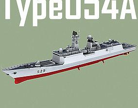 3D asset Chinese Navy Type 054A Jiangkai Class Missile