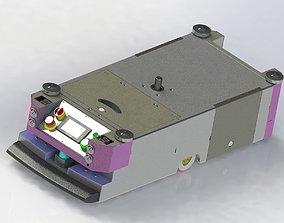 AGV carrier car 3D