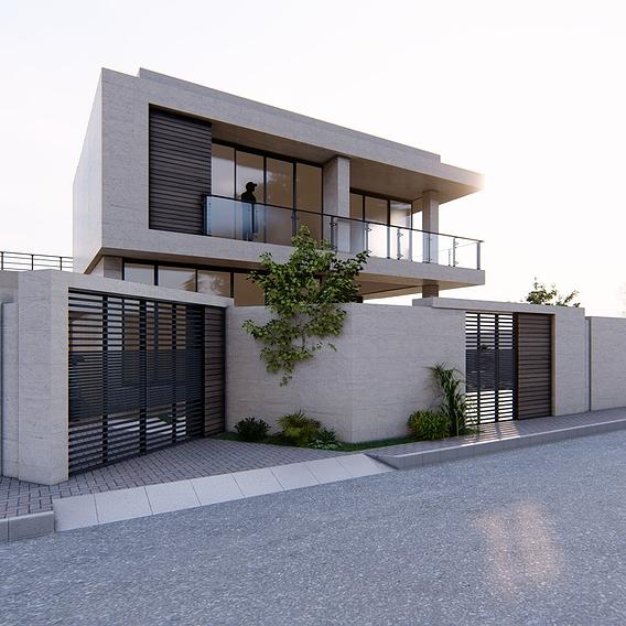 Villa - 3dnikmodels