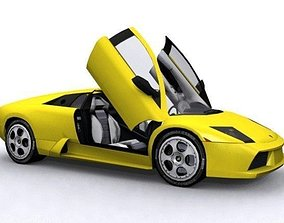 Lamborghini Murcielago 3D model VR / AR ready