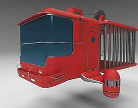 Zombie catcher ship from Zombie catcher mobile 3D model
