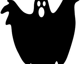 HALLOWEEN GHOST COOKIE AND FONDANT 3D printable model 2
