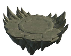 3D model Terrain - round pk table 46