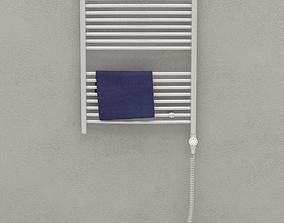 3D model bathroom Towel dryer