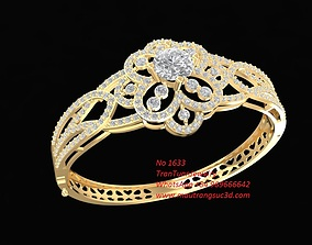 3D print model 1633 Diamond Bangle