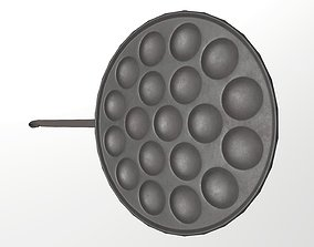 3D asset Pancake pan
