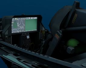 F-35 Cockpit 3D asset