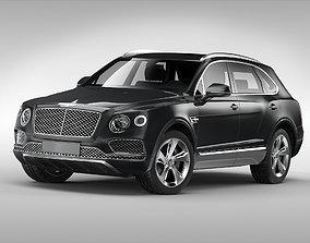 3D Bentley Bentayga 2017