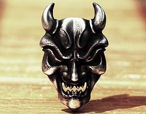 3D printable model Oni Mask