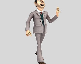 3D Mr Been for Poser