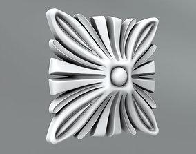 classical Square decoration 3D model