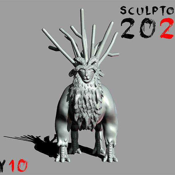 Sculptober Day 10 Nature