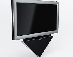 3D model Led lcd hdtv Television 02 AM77