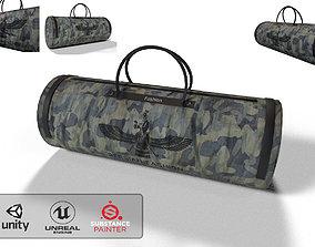 military backpack-bag sport 3D asset