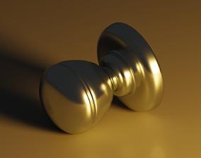 3D model low-poly Door Knob