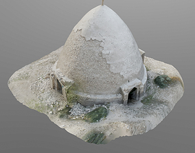 3D Scanned - water reservoir low-poly