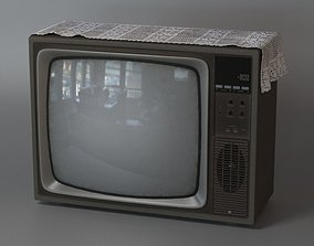 Old TV other 3D