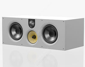Bowers and Wilkins HTM 61 S2 White 3D model